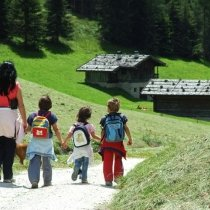 wandern mit kindern  - escursioni con bambini